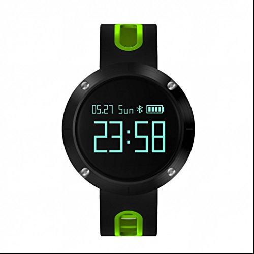 Bracelet Connecté,Tracker d'Activité Intelligente Sommeil chronomètre,Calculateur de Distance,Appel SMS Notification Push,Bracelet d'activité Compatible avec pour Android iOS Smart Phone Samsung
