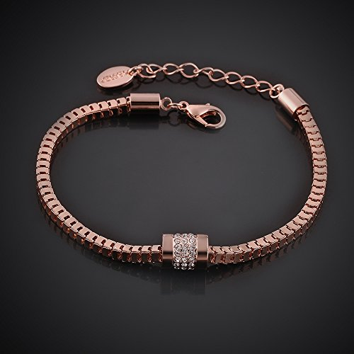 rose gold plated fashion bracelets import it all