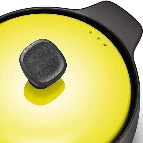 WZF Casserole pour Pots - Économie d'énergie Préservation de la Chaleur Sécurité et Protection de l'environnement Forte conductivité Thermique 3L