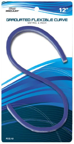 PRO ART 12-Inch Graduated Flexible Curve