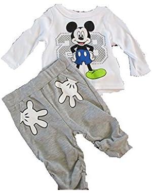 Disney Mickey Mouse Infant Shirt Pants Set