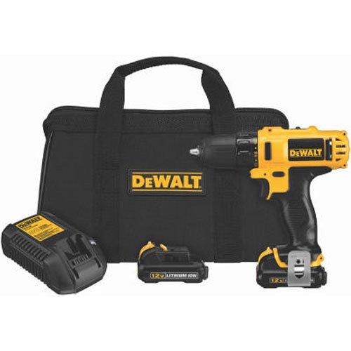 DEWALT DCD710S2 12-Volt Max 3 8-Inch Drill Driver Kit