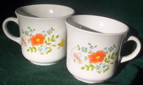 Corelle Expressions Mug Coffee Cup, Wildflower (aka Spring Bouquet)