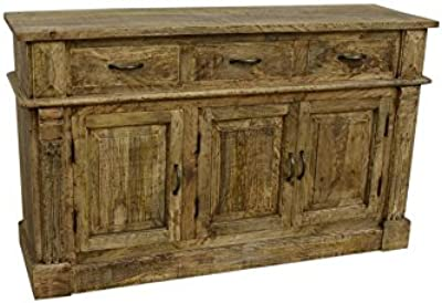 Manzel Furniture Slightly Stained Mango Wooden Sideboard