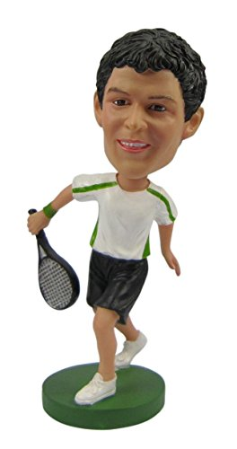 Unibobble 7 Inches Custom Made Sports Bobble head Doll From Head To Toe Based On Your Photos 100% satisfaction