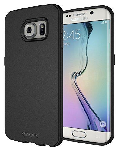 Galaxy S6 Edge Case, Diztronic Full Matte Flexible TPU Case for Samsung Galaxy S6 Edge – Black (S6E-FM-BLK)
