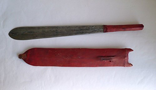 African Handmade Maasai Warrior Tribal Hunting Knife / Sword (SEME)