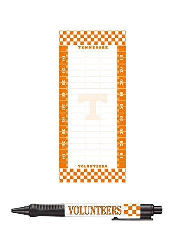 NCAA Tennessee Volunteers To Do List Notepad with Magnet and Pen Set (List Of All Black Colleges And Universities)