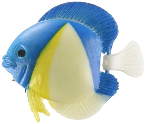 uxcell 3 Piece Plastic Tropical Fish Ornament Aquarium, Multicolor