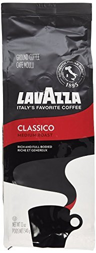 Lavazza Ground Coffee Classico 340g - Pack of 2