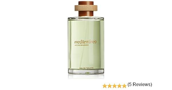 Antonio Banderas Mediterraneo - Perfume para hombre, 200 ml