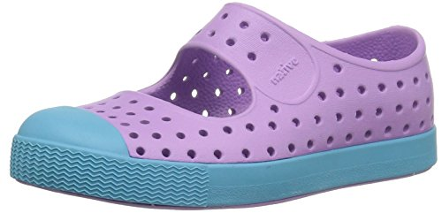 native Kids Juniper Water Proof Shoes, Lavendar Purple/Surfer Blue, 7 Medium US - Lavendar Apparel
