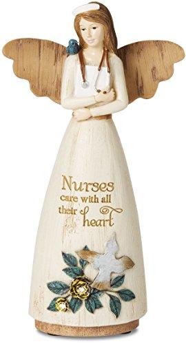 Pavilion Gift Company 02978 Nurse Angel Figurine, (Collectible Nurse Angel Figurine)