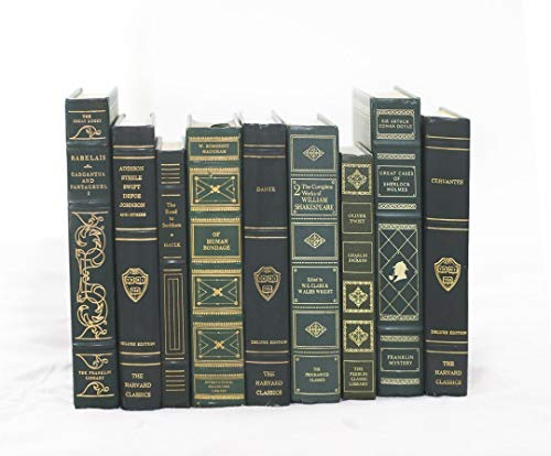 - Decorative Books for Designers - Green with Gold Embossing, 12