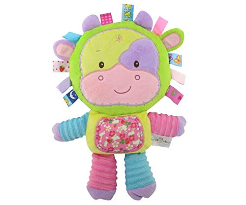 Happy Monkey Baby Rattle   Soft Plush Stuffed Toys   Bed Bells Trolley/Crib Hanging Toy