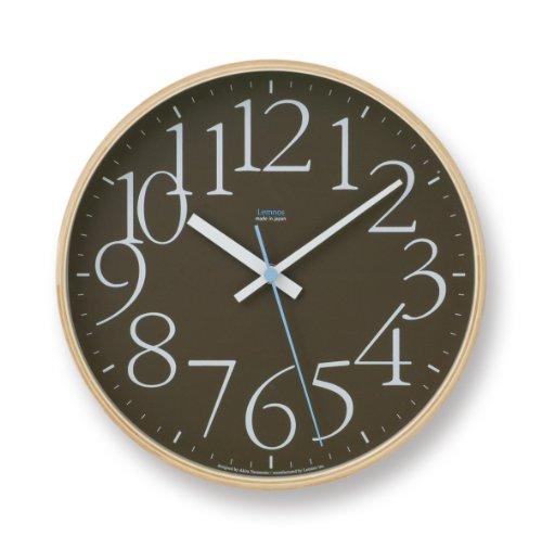 Lemnos AY clock Brown LC09-17 BW