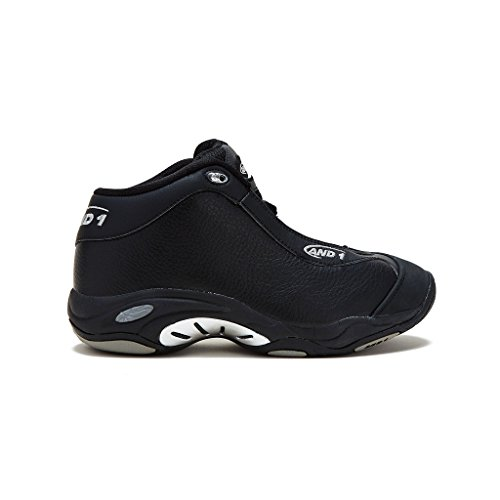 AND1 Mens Tai Chi Basketball Shoe 12 Black/Black