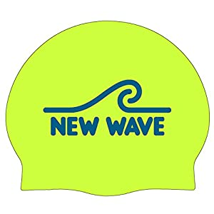New Wave Swim Cap – Silicone Swim Cap by Swim Buoy (60g Large)