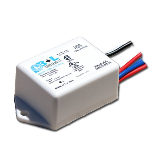B+L NU6-1122-PSX electronic ballast for one 22w circline ...