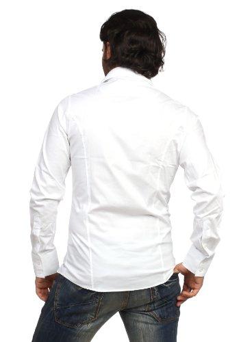 Redbridge Herren 2111 Classic Hemd Slim Fit Größe XXL weiss