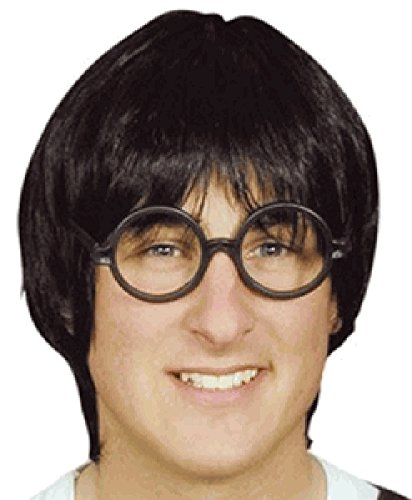 My Costume Wigs Men's Harry Potter Early Years with Glasses (Black) One Size Fits -
