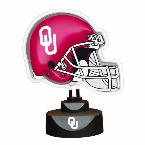 NCAA University of Oklahoma Neon Helmet (University Neon Lamp)