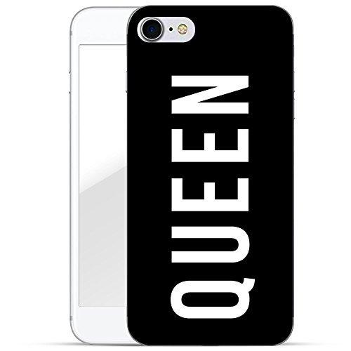 finoo   iPhone 7 Hard Case Handy-Hülle mit Motiv   dünne stoßfeste Schutz-Cover Tasche in Premium Qualität   Premium Case für Dein Smartphone  Queen