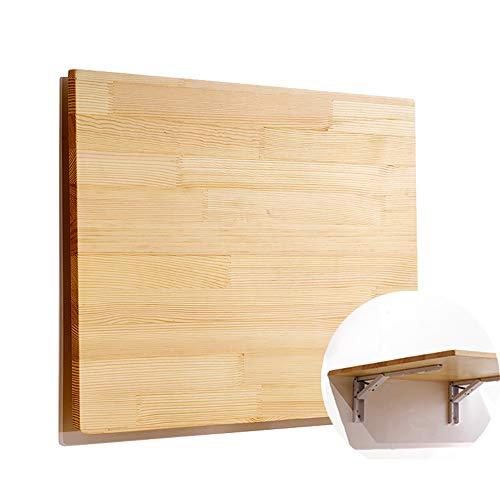 Pine Drop Leaf - Wall Mount Folding Table Desk,Drop-Leaf Folding Table Kitchen & Dining Table Desk Children Table Customize,length100width50cm