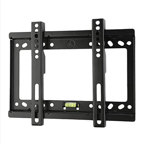 Plana Black Steel TV Wall Mount Bracket for 14