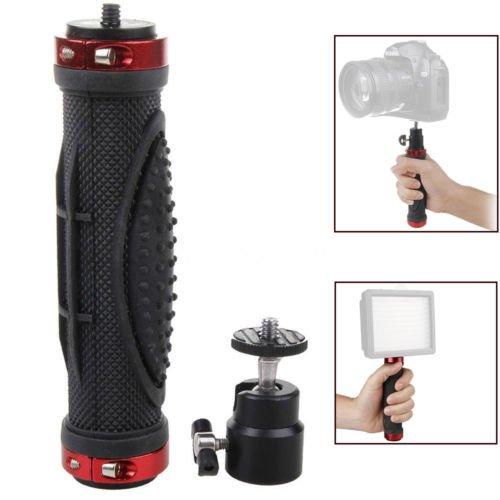 FOTGA 1/4 Handheld Holder Handle Grip Stand Tripod Stabilizer for DSLR Camera LED Light by FOTGA