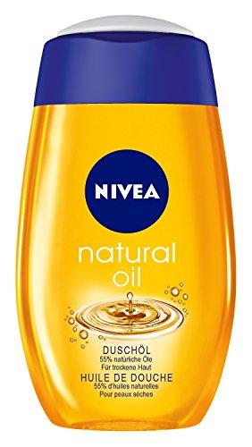 Nivea Natural Oil Duschöl, Duschgel, 2er Pack (2 x 200 ml)
