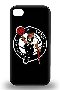 Premium 3D PC Case For Iphone 4/4s Eco Package Retail Packaging NBA Brooklyn Nets Logo ( Custom Picture iPhone 6, iPhone 6 PLUS, iPhone 5, iPhone 5S, iPhone 5C, iPhone 4, iPhone 4S,Galaxy S6,Galaxy S5,Galaxy S4,Galaxy S3,Note 3,iPad Mini-Mini 2,iPad Air )