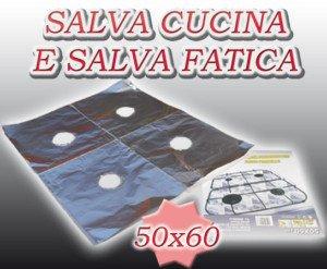 CARTA ALLUMINIO PROTEGGI PIANO COTTURA CUCINA FORNELLI: Amazon.it ...