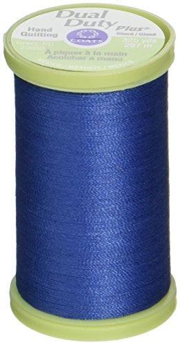 COATS & CLARK S960-4470 Dual Duty Plus Hand Quilting Thread, 325-Yard, Yale Blue Coats Quilting Thread