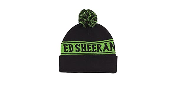 Amazon.com  Ed Sheeran ED Green Pom Beanie  Clothing f9c9b78ebf7
