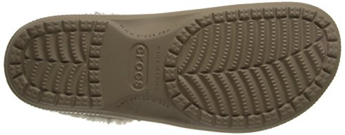 Clog Unisex Beige Sabots Adulte oatmeal Crocs Mixte Colorlite Lined tumbleweed PHUpngp