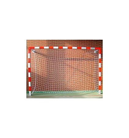 Juego de Redes Reglamentarias de 3 mm /Ø Par de Redes Balonmano//F/útbol Sala