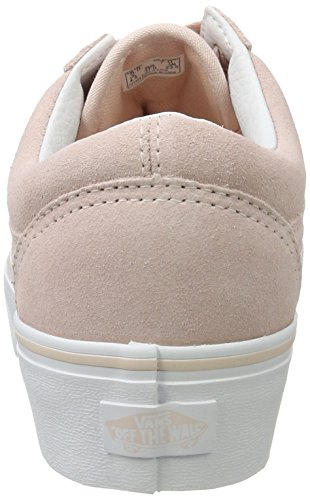 Running Chaussures de Platform Femme Skool Sepia Rose Whitesuede True Vans Old Rose pqtXaa