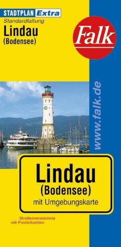 Falk Stadtplan Extra Standardfaltung Lindau (Bodensee)