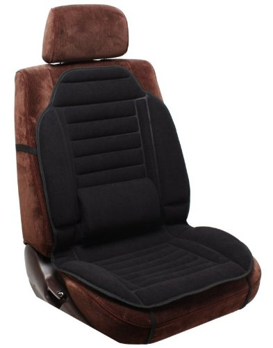 Pilot Automotive SC-275E Black Seat Cushion with Lumbar Support
