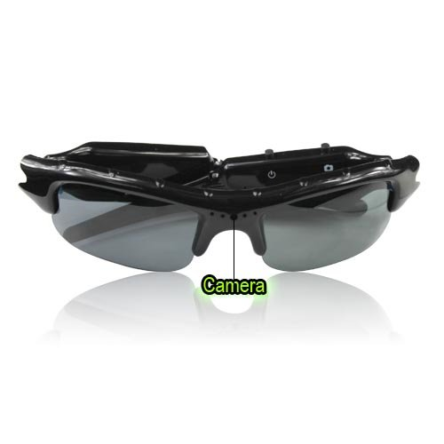 Flylinktech New Mini SunGlasses Spy glass DV DVR Hidden Camera glasses...