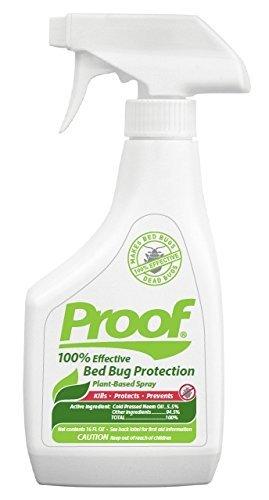 Proof Bed Bug Spray - 100% Effective, Lab Tested Bed Bug Killer