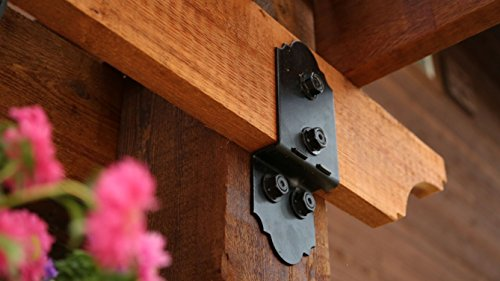 OZCO Ornamental Wood Ties Post To Beam Bolt Offset Laredo Sunset by OZCO (Image #4)