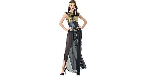DEXIAOBANG M-XL Halloween Diosa Griega Cleopatra Ropa Europa Y ...
