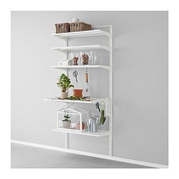 Ikea Algot Wandschienebodenhaken Aufbewahrungssystem In Weiß