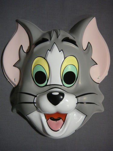 Tom and Jerry Tom Cat PVC Child Mask