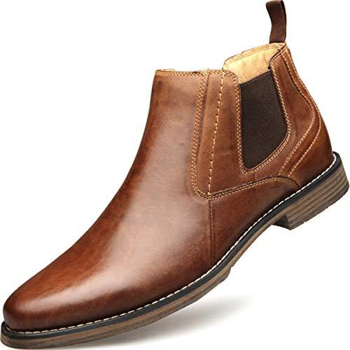 [トーフォズ] チェルシーブーツ マーチンブーツ カジュアルシューズ ビジネスブーツ メンズ 革靴 レザーブーツ ショートブーツ 大きいサイズ ブーツ 紳士靴 四季 ブラック 30.0cm 1878
