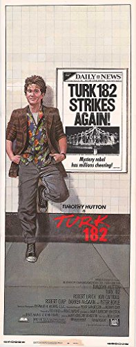 Turk 182   Authentic Original 14  X 36  Movie Poster