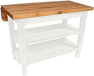 product image for John Boos Kitchen Island Bar Work Table, 48in x 38in, Alabaster Base