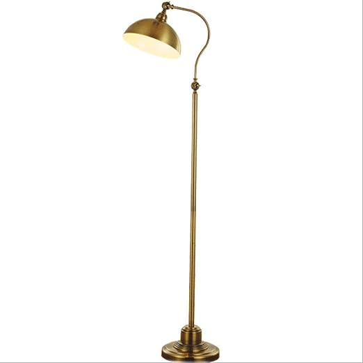 G-M Lámparas de pie Lámpara de pie Moderna de la lámpara de Cobre ...